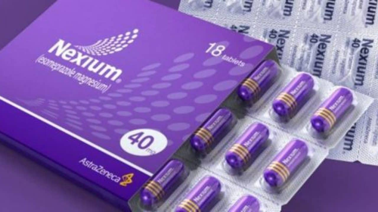 Inexium (Esomeprazole) 40 mg tablets are indicated