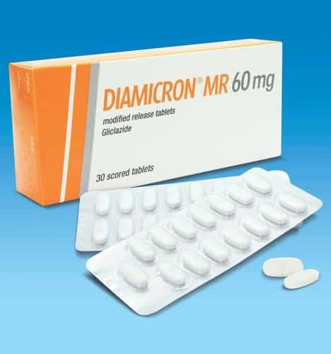 Diamicron 60 mg tablet Uses, Dosage, Side Effects &Warnings