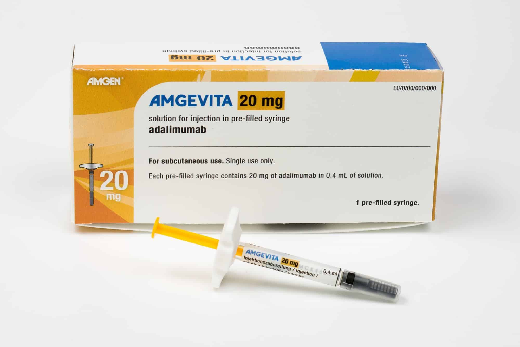 amgevita Dosage