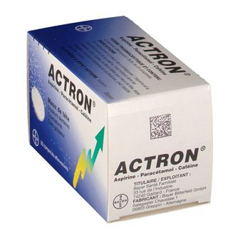 Actron effervescent tablet
