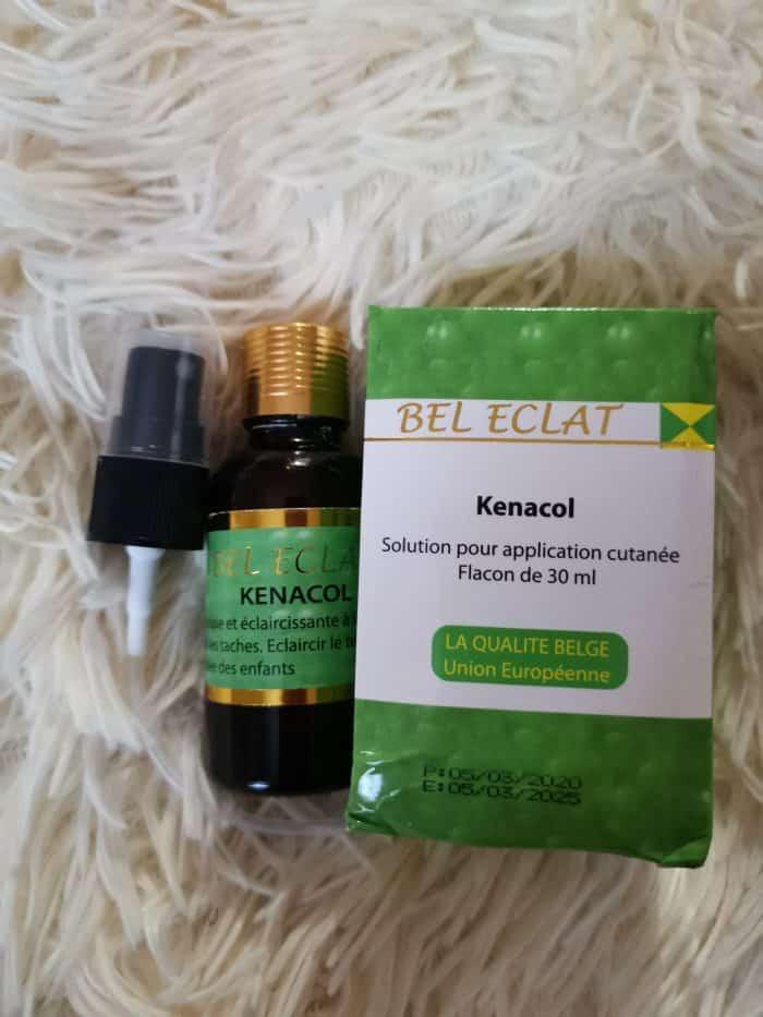 KENALCOL, solution for skin application