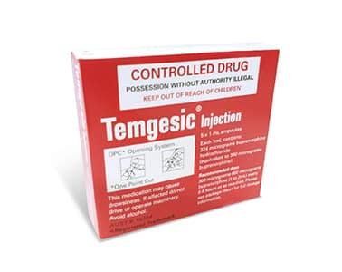 temgesic injection