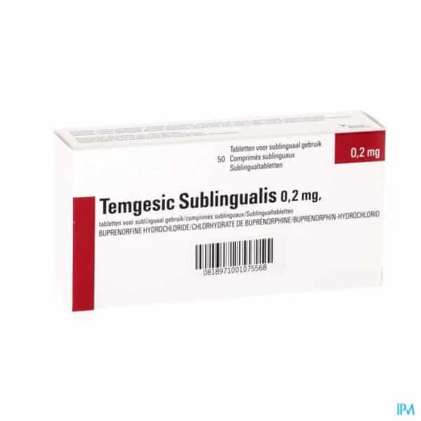 temgesic sublingual tablets