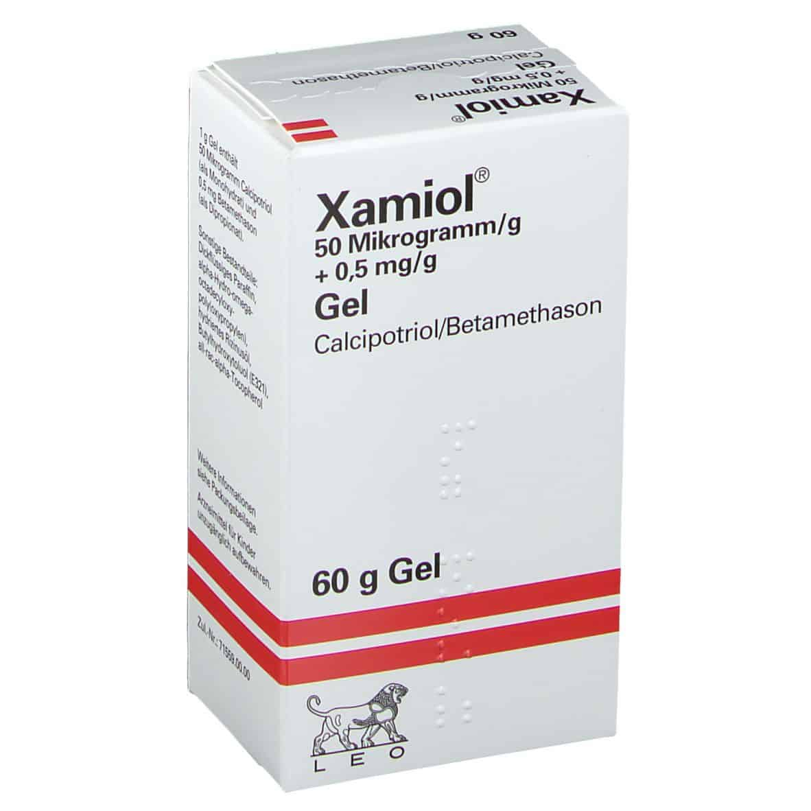 xamiol gel uses