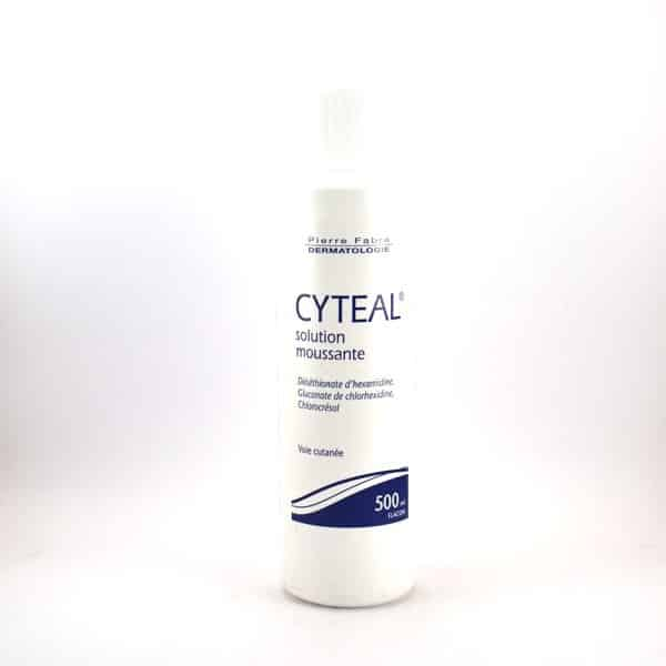 cyteal antiseptic foaming solution 500